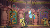 Daring Do approaches another door S6E13