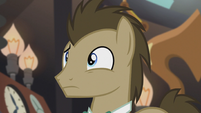 Dr. Hooves realizes something S5E9