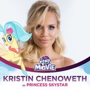 Kristin Chenoweth as Princess Skystar