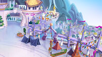 MLP The Movie background art - Canterlot basilica