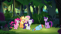 Main ponies gasping S4E04