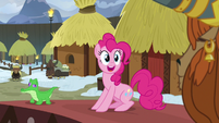 "Pinkie Pie ""ambassador and honorary yak?!"" S7E11"