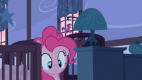 Pinkie Pie down here S2E13