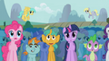Pinkie Pie in crowd S01E06.png
