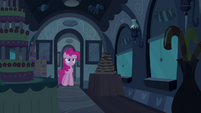 Pinkie Pie in front of door S2E24