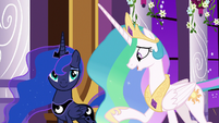 "Princess Celestia ""we know you had"" S9E17"