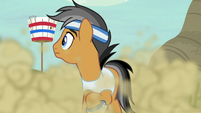 Quibble impressed by Rainbow's speed S9E6