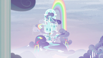 Rainbow Dash's cloudominium S6E7