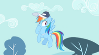 Rainbow Dash closes her mouth S4E05