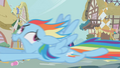 Rainbow Dash screaming for her life S1E10.png