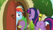 Rainbow Dash uh-oh face S03E13