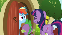 Rainbow Dash uh-oh face S03E13