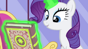 Rarity and the beauty-fied spellbook S4E23