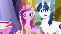 """Shining Armor """"you getting all this, Twily"""" S7E3"""
