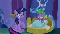 Spike -I'm not in magic school- S8E11