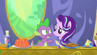"Spike whispering ""just keep her here"" S7E15"