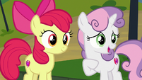 "Sweetie Belle ""we love being Cutie Mark Crusaders!"" S7E21"