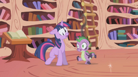 Twilight & Spike teleported S1E3