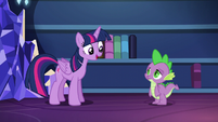 Twilight --I've even devised a better system for organizing them-- S5E22