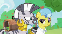 "Zecora ""something here can go terribly wrong"" S9E18"