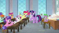 "Apple Bloom ""we wanna go to your school!"" S8E12"