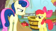 Apple bloom vendiendo manzanas
