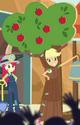 Applejack as talking apple tree ID CYOE9a
