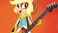 Applejack playing bass in the band EG2.png