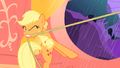 Applejack tugs on lasso S1E08.png