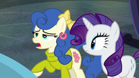 "Blueberry Curls ""striking dress, Rarity"" S8E4"