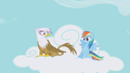 Dash asking where Pinkie Pie went S1E05.png