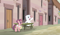 Double Diamond sits across from Mane Six S5E1.png