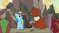 Dr. Caballeron badmouths Daring Do yet again S7E18.png