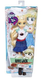 Equestria Girls Classic Style Applejack doll packaging