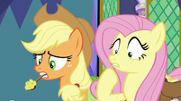 Fluttershy fails to cheer up Twilight S8E2
