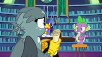 Gabby -your scroll said you were too tired- S9E19