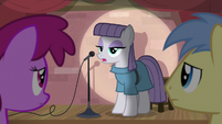 Maud Pie -picking stuff up with our teeth- S8E3