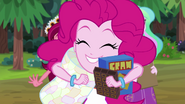 Pinkie Pie excited about making s'mores EG4
