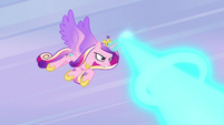 Princess Cadance blasting magic MLPBGE