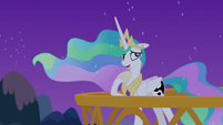 Princess Celestia -you're talking to yourself- S7E10