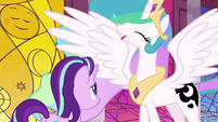 Princess Celestia feeling well-rested S7E10