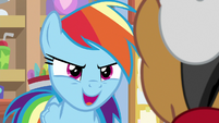 "Rainbow Dash ""by the end of the day"" S9E6"