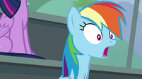 Rainbow Dash watching slack-jawed S8E20