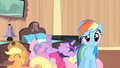 Rainbow looks at Rarity S4E08.png