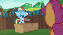 Rainbow tells Scootaloo to get paint cans S6E14