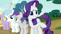 "Rarity ""nothing, nothing, go on"" S7E6"