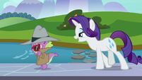 Rarity -I wonder if you wouldn't mind- S8E11