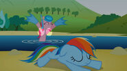 S01E05-error Pinkie Flotadores