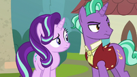 Starlight and Firelight hear Stellar Flare S8E8