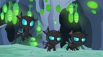 Trio of young changelings S7E17